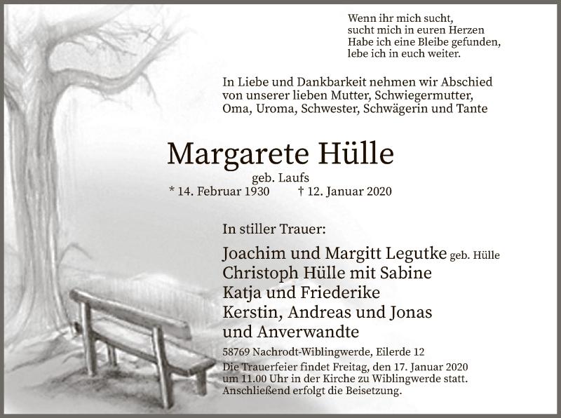 Margarete-Hülle