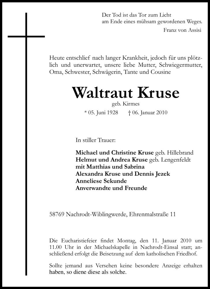 Waltraut-Kruse