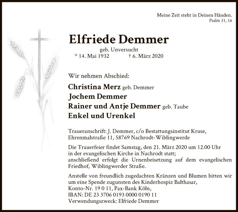 Elfriede-Demmer