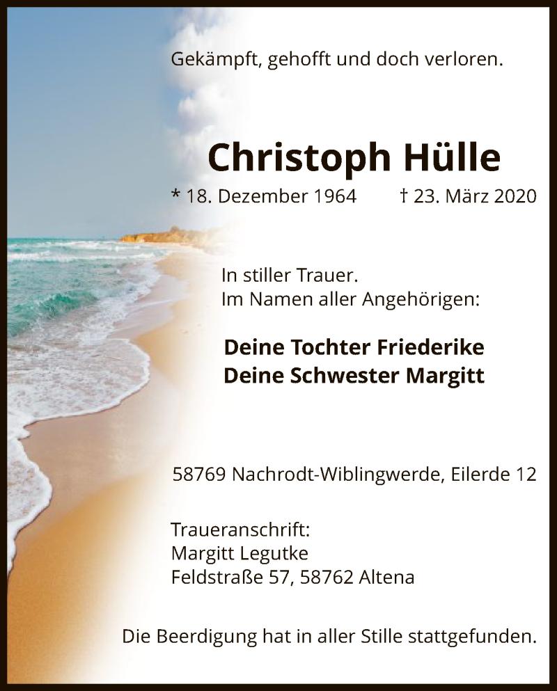 Christoph-Hülle