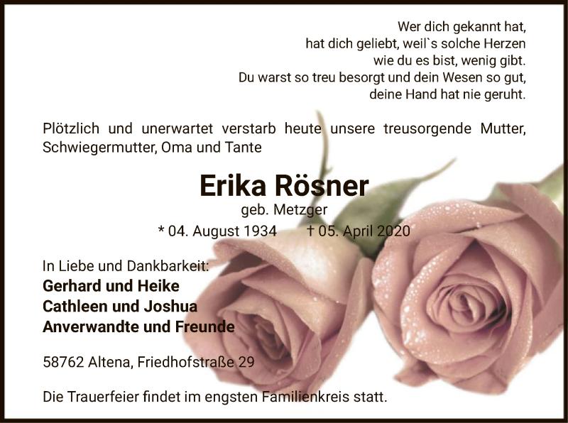 Erika-Rösner