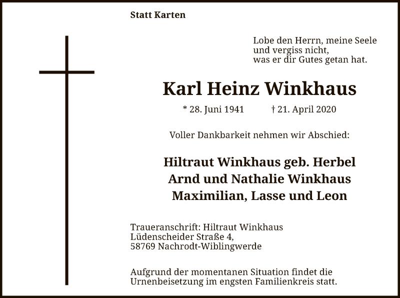 KarlHeinz-Winkhaus