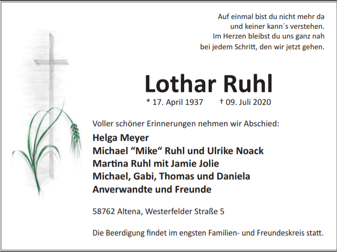 Ruhl Lothar