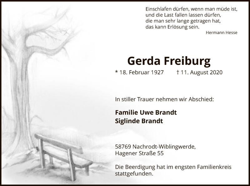 Gerda-Freiburg