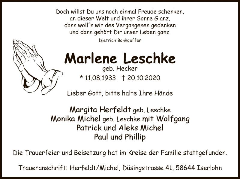 Marlene Leschke