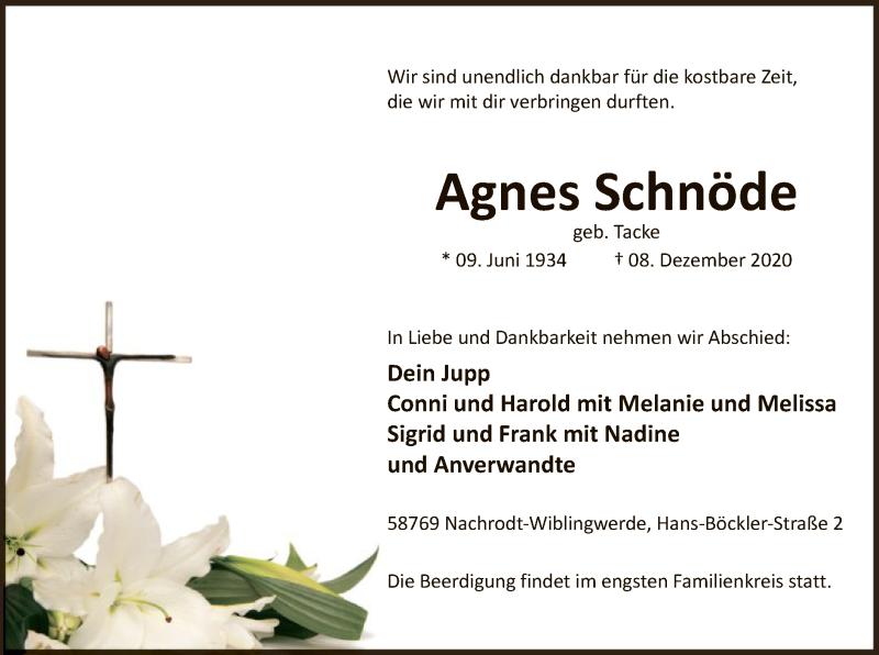 Agnes-Schnöde