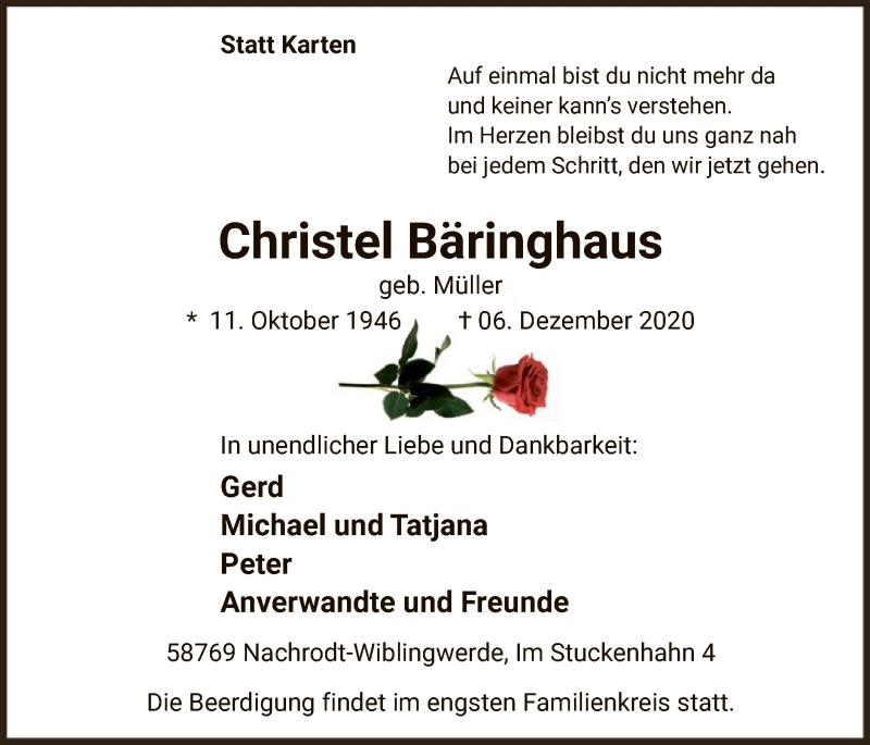 Christel Bäringhaus