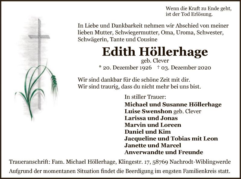 Edith Höllerhage
