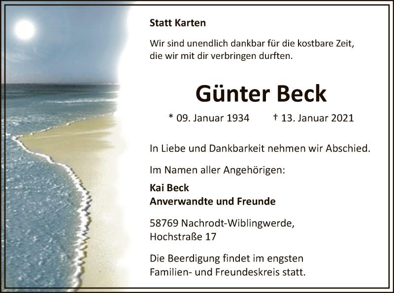 Günter Beck