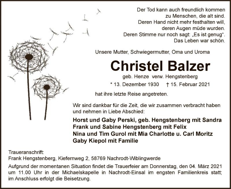 Christel-Balzer