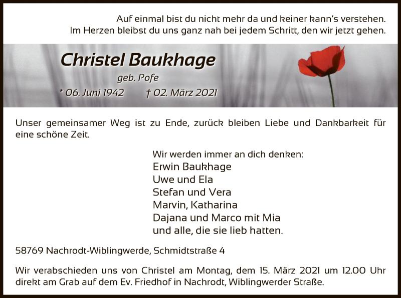 Christel-Baukhage