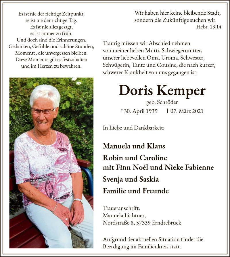 Doris-Kemper