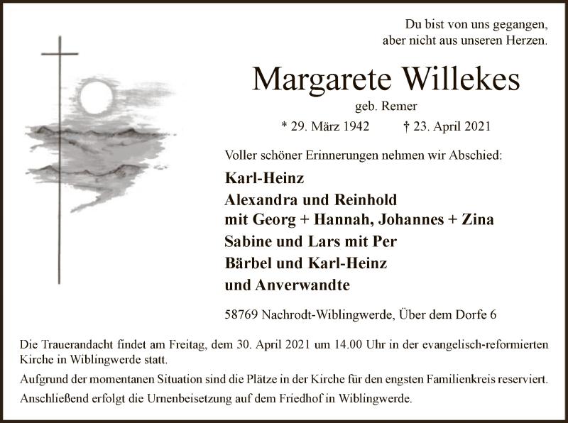 Margarete Willekes