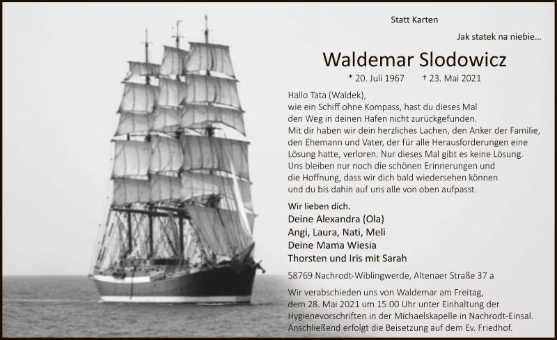 waldemar Slodowicz