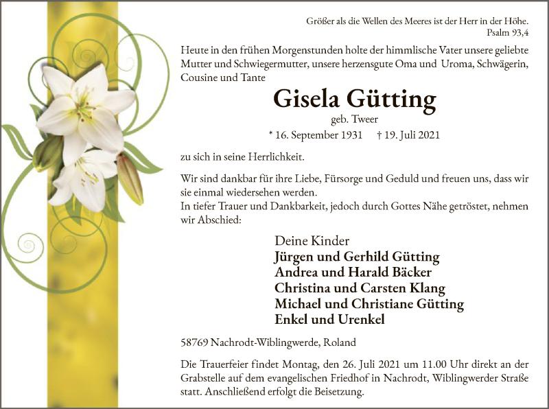 Gisela Gütting